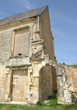 Medieval castle. Ruins in french province Stock Photography