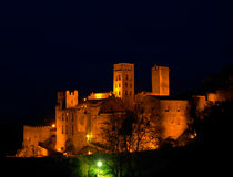 Medieval castle. Spain Royalty Free Stock Photo