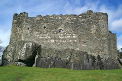 Medieval Castle. Dunstaffnage Castle, near Oban, Scotland Royalty Free Stock Photography