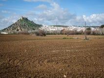 Medieval castle at Almodovar del Rio, Cordoba, Andalusia, Spain Stock Photo