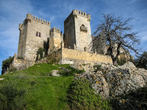 Medieval castle at Almodovar del Rio, Cordoba, Andalusia, Spain Royalty Free Stock Photography