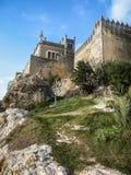 Medieval castle at Almodovar del Rio, Cordoba, Andalusia, Spain Royalty Free Stock Image