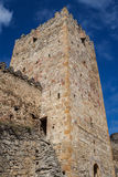 Medieval castle of Ananuri. Georgia royalty free stock images