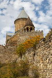 Medieval castle of Ananuri Royalty Free Stock Photo