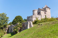 Medieval castle in Bedzin Royalty Free Stock Photos