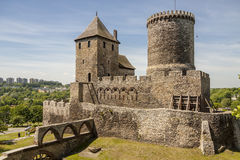 Medieval castle - Bedzin. Stock Image