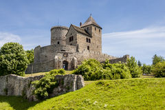 Medieval castle - Bedzin Royalty Free Stock Photos