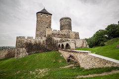 Medieval castle in Bedzin Royalty Free Stock Photography