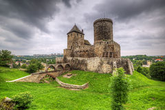 Medieval castle in Bedzin Stock Photo