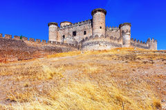 Medieval castle in Belmonte Royalty Free Stock Photography
