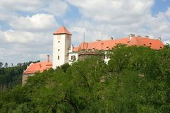 Castle Bitov in the Southern Moravia, Czech republic Stock Images