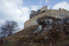 Medieval castle in Bobolice Royalty Free Stock Photo
