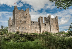Medieval Castle. Bolton Castle in North Yorkshire. One of the country's best preserved medieval castles Royalty Free Stock Photography