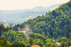 Medieval Castle of Bran. Also known for the myth of Dracula Stock Photography