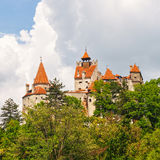 Medieval Castle of Bran Stock Photo