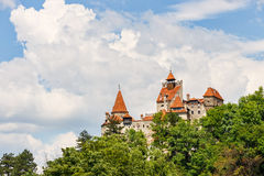 Medieval Castle of Bran Royalty Free Stock Images