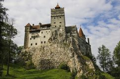 Medieval Castle of Bran, known for the myth of Dracula. Brasov,. Transylvania. Romania. Europe royalty free stock photography