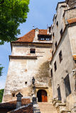 Medieval Castle of Bran, Romania Royalty Free Stock Photography