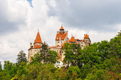 Medieval Castle of Bran, Romania Royalty Free Stock Images