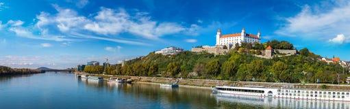 Medieval castle  in Bratislava, Slovakia Stock Images