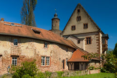Medieval castle of Buedingen Royalty Free Stock Photography