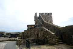 Medieval castle, Carrickfergus, Northern Ireland Royalty Free Stock Photo