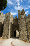 The medieval castle Castelo dos Mouros, Sesimbra, Portugal Stock Images