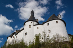 Medieval castle in Clervaux Stock Photography