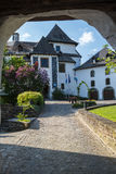 Medieval castle in Clervaux Royalty Free Stock Photo