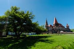 Medieval castle, Corvinesti,Romania Royalty Free Stock Photography