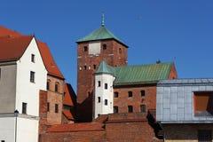 Medieval castle in Darlowo, Poland. Stock Photo