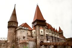 Medieval castle during daytime Royalty Free Stock Photography