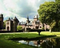 Medieval Castle De Haar Royalty Free Stock Photos