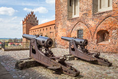 The medieval castle defense Royalty Free Stock Images