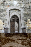 Medieval Castle Drawbridge. A drawbridge from a Medieval Castle Stock Photos