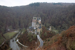 Medieval Castle Eltz in Germany. Medieval Castle - Burg Eltz in Germany Royalty Free Stock Photography