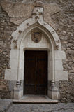 Medieval Castle entrance. Entrance of a medievale castle stock image