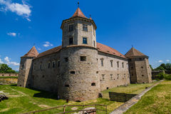 Medieval castle Fagaras Romania Stock Photos