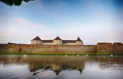 Medieval castle at Fagaras, Transylvania Stock Photos