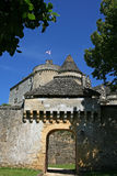 Medieval Castle of Fenelon in Perigord, France. Photograph of the medieval Castle of Fenelon, located in the historic Perigord region of France Stock Photography