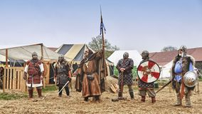 Medieval Castle Festival Royalty Free Stock Photo