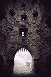 Medieval castle gate Royalty Free Stock Photography