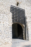 Medieval castle gate Stock Photo