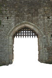Medieval castle gate, England Royalty Free Stock Images