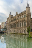Medieval Castle of Gerald the Devil in Gent Stock Photos