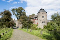 Medieval Castle in Germany. Medieval Castle Haus zum Haus in Ratingen, Germany royalty free stock images