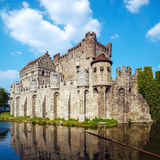 Medieval Castle, Ghent, Belgium Royalty Free Stock Images