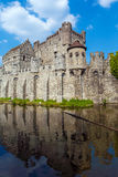 Medieval Castle, Ghent, Belgium Royalty Free Stock Photography