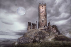 Medieval Castle Stock Photo