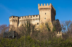 Medieval Castle of Gradara Royalty Free Stock Image